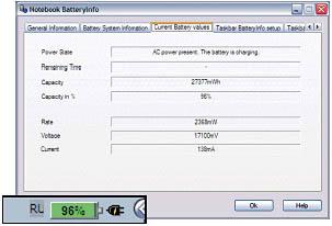 программа для измерения заряда батареи ноутбука